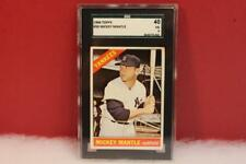 BASEBALL CARD TOPPS  1966 MICKEY MANTLE  #50 SGC 40 VG 3 GRADED CARD SC40