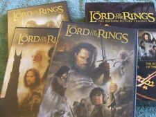 THE LORD OF THE RINGS THE MOTION PICTURE TRILOGY DVD SET 6 DISCS BOXED