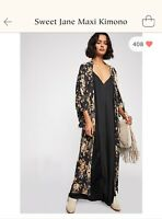 Free People 💋Sweet Jane💋 Maxi Kimono Spell And The Gypsy Collective (SOLD OUT)