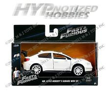 JADA 1:32 FAST AND FURIOUS MR. LITTLE NOBODY'S SUBARU WRX STI DIE-CAST 98305