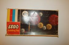 Vintage LEGO Samsonite Building Toy GEARS 001 In Original Box 1960's INCOMPLETE