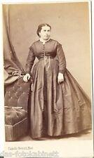 Camille Rensch CDV photo dame des enchères-Paris 1860er