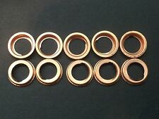 Set of 10 Oil Drain Plug Crush Washer Gaskets Fits Nissan 11026-JA00A FREE SHIP
