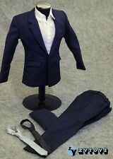 """ZY Toys 1/6 Scale Blue Shirt Pants Clothing Suit for 12"""" Male Figure"""