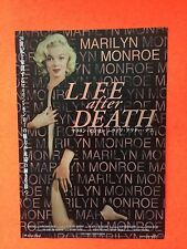 2 Marilyn Monroe Movie JAPAN album Tour promo ad mini poster Japanese adverts