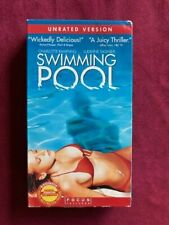 SWIMMING POOL - VHS tape - UNRATED VERSION