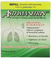 Asthmanefrin Asthma Medication Refill 30 Vials Exp Date 09-2018