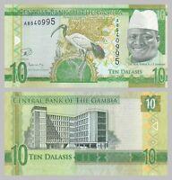 Gambia 10 Dalasis 2015 p32 unz.