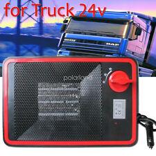 Portable 300W Car Heater Defroster Heating Fan Cooler for Truck Crane VAN DC 24V