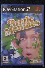 PS2 : PUZZLEMANIACS - Nuovo, risigillato ! Scatena la tua logica!