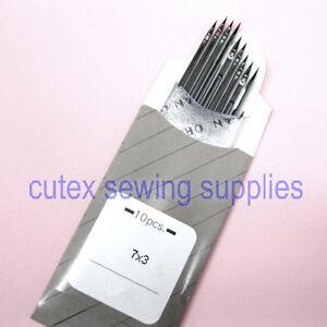 10 Organ 7X3 Singer Class 7 Consew 744R Sewing Machine Needles DYX3 794