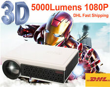 5000 lumens Portable Mini Pocket 1080P HD LED HDMI Projector Home Cinema Theater