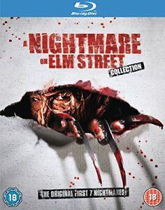 Nightmare On Elm Street 1-7 [Blu-ray] [2011] [Region Free] [DVD][Region 2]