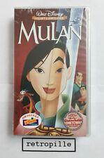 Mulan, Walt Disney, Meisterwerk, Vhs,deutsch,Neu,OVP,sealed, Selten, Rare, Top