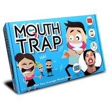 Mouth Trap the Speak Out Loud Talking Mouthpiece Game with Forfeit Cards
