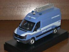 POLIZIA POLICE VW Volkswagen Crafter unità artificieri scala 1/43