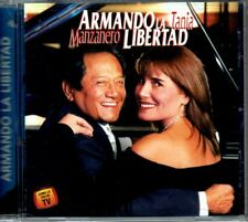 Armando La Libertad  Tania Libertad y Armando Manzanero  BRAND NEW SEALED CD