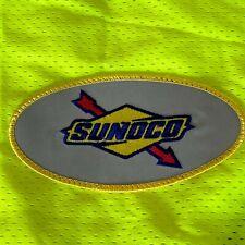 Class 2 Safety Vest 3XL Sunoco Logo Patch High Visibility Sticky Closure 3M ANSI