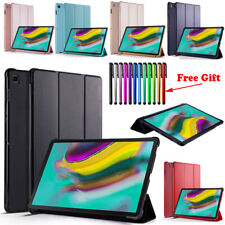 For Samsung Galaxy Tab A S5e 10.1 10.5 inch 2019 Tablet Case PU Leather Cover