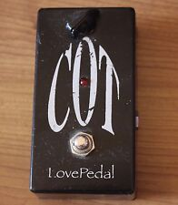 Rare Cot Lovepedal Church of Tone Electric Guitar Pedal Love Black