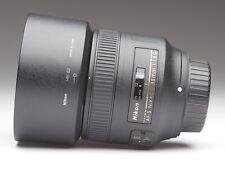 Nikon AF-S NIKKOR 85 mm f/1.8 G