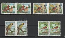Colombie 1994 oiseaux Le Râle de Bogota 8 timbres neufs MNH /TR8362