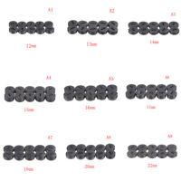 10Pcs Negro Tapa de Soporte Escobillas de Carbón Pinceles Cubie*ws