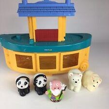 Fisher-Price Little People Noah's Ark & 5 Figures