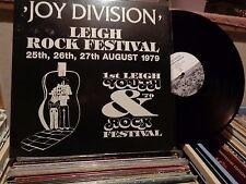 JOY DIVISION LEIGH ROCK FESTIVAL MINT 180 GRAM VINYL LP RECORD