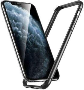 ESR Edge Guard Alloy TPU Hybrid Bumper Frame Case For iPhone 11 Pro Max Grey