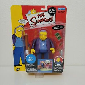 Playmates The Simpsons FAT TONY All-Star Voices World of Springfield Series 1