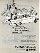 1963 Studebaker Lark Wagonaire Station Wagon Automobile Car art Vintage Ad