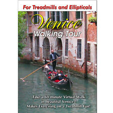 VENICE, ITALY WALKING TOUR - TREADMILL SCENERY DVD - VIDEO EXERCISE FITNESS