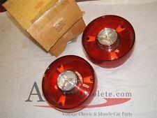 1958-9 Thundebird Stop & Tail Lamp lens Pair