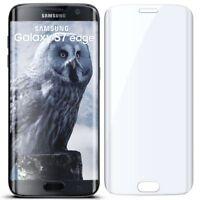 3D Panzer Glasfolie für Samsung Galaxy S7 Edge aus 9H Hart Glas Klar Full Screen