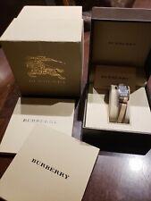 Burberry watch women bu1060 rectangular black