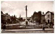 More details for newton abbot. war memorial & st paul's road # 201905 by valentine's.