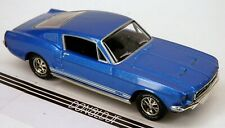 Dinky Matchbox Collectibles '67 Ford Mustang GT Fastback Blue 1967 1:43 Scale