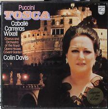Old Vinyl Dept.: Puccini - Tosca - Montserrat Caballe - Colin Davis - imported