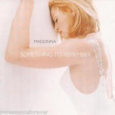 MADONNA - Something To Remember (EU/UK 14 Tk CD Album)