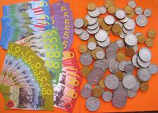 Realistic Australian Play Money Coins & Laminated Notes won't tear Bulk Lot