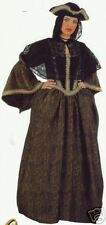 WOMENS DELUXE MEDIEVAL PERIOD FANCY DRESS VENICE NOBLE COSTUME - MASQUERADE BALL
