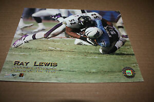 BALTIMORE RAVENS RAY LEWIS UNSIGNED 8X10 PHOTO POSE 1