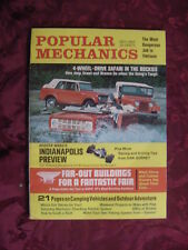 POPULAR MECHANICS Magazine May 1967 JEEP SCOUT BRONCO Rockies Impala Cutlass