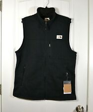 NWT MENS THE NORTH FACE GORDON LYONS VEST BLACK HTR VEST FULL ZIP SZ S, L, XL