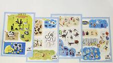 Bully Poster === 4 x Faltblatt Figuren Werbung Tiere Disney etc. Plakat