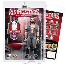 Rising Stars of Wrestling Action Figures: Chuck Taylor [Pink Stripe Variant]