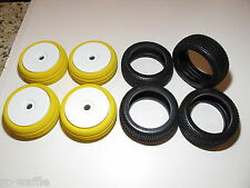 AGMA8-USA AGAMA A8 EVO BUGGY TIRES WITH 17MM HEX WHEELS