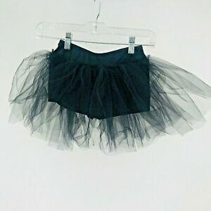 Balera Dancewear Black Tutu Crinoline Shorts USA Size Medium