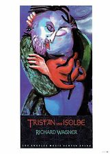 """DAVID HOCKNEY """"TRISTAN & ISOLDE"""" POSTER PRINT 10""""x 14"""" WALL ART POSTER PAGE"""